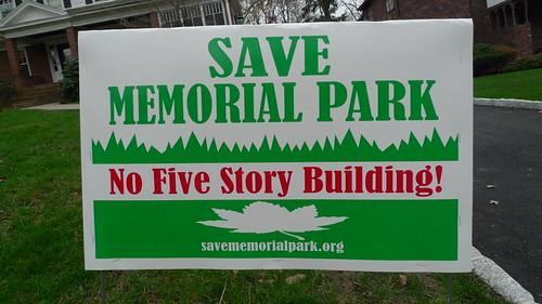 save memorial park