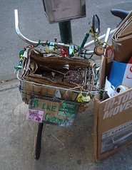 Sad Bike Garden (GammaBlog) Tags: nyc eastvillage gardening bikes bicycles ev bikegarden