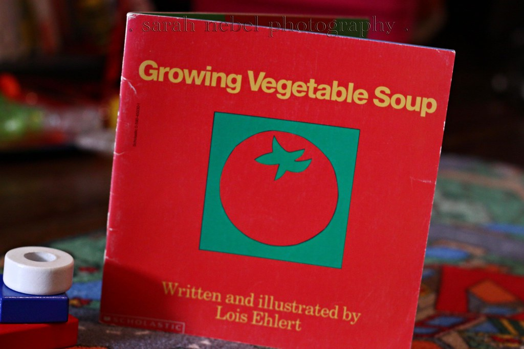 . growing vegetable soup .