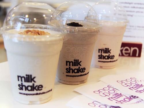 3 mini shakes