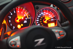 2010 Nissan 370Z Gauges (Auto Exposure Canada) Tags: auto car japan japanese circles fast convertible 350 z tuner speedo 370 import gauges datsun roadster 2009russellpurcell 2010nissan370z