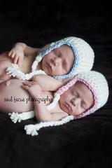 Stella and Axl - twins (Soul Focus (Rebecca)) Tags: 50mm twins newborn nikond700