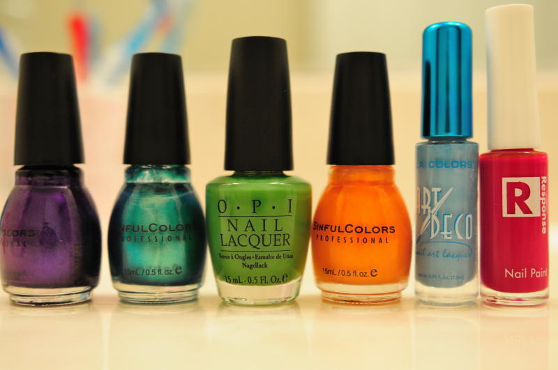 Colorful Lacquers