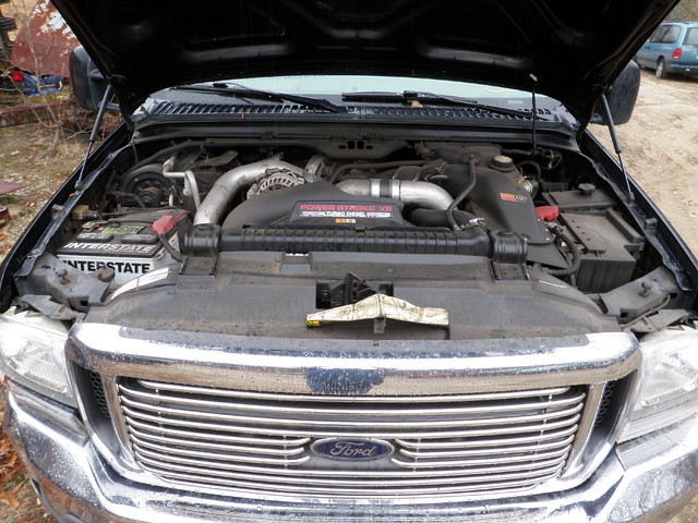 ford 2004 diesel 04 pickup fordtruck f250 superduty ecas powerstroke eastcoastautosalvage 0408p9