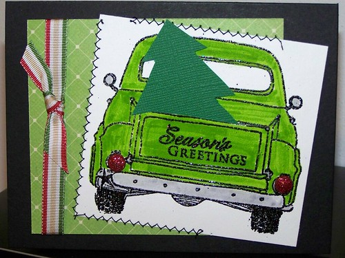 Green Truck/Season's Greetings