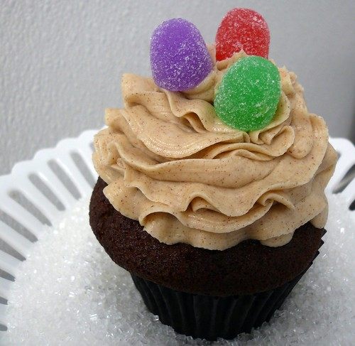 Gingerbread cupcake from Sweet Things, Tacoma