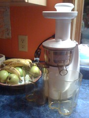 Our brand new slow-juicer