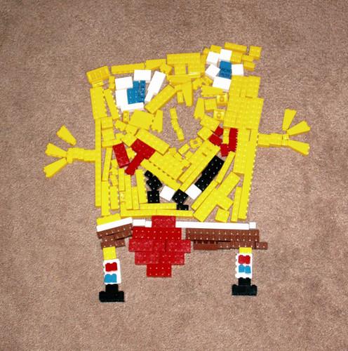 Spongebob Lego Mosaic