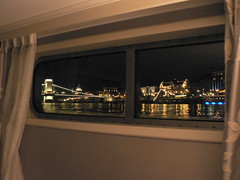 Budapest from cabin