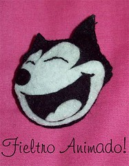 Broche de Flix el Gato (Fieltro Animado!) Tags: broches fieltro felixelgato fieltroanimado