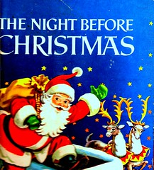 THE NIGHT BEFORE CHRISTMAS... (roberthuffstutter) Tags: santa christmas books waving picnik bookcovers nightbeforechristmas hotoffthepress huffstutter merrychristmas2009 artandorphotosbyhuffstutter