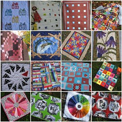 Some of my 2009 quilty creations