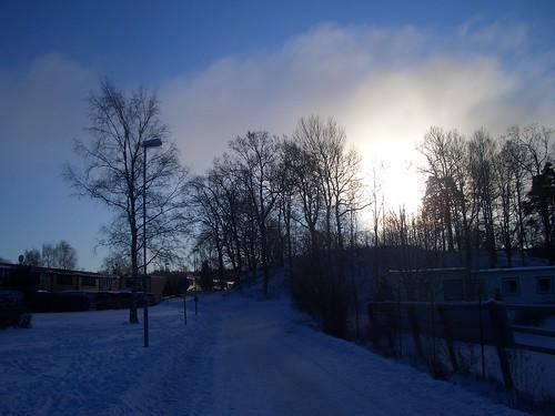Vinter i Landvetter