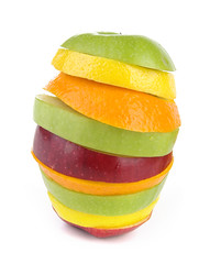 Superfruit (angel00) Tags: lighting red food orange green apple yellow fruit pepper still lemon healthy shiny pentax eating alma flash objects studioshot lime tamron paprika softbox piros zöld sárga narancs gyümölcs tamron1750 vaku citrom pentaxk10d mikrosat egészség studiflash