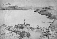 Golful balcic_desen_Muzeul de Arta Constanta