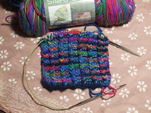 Scarves I'm knitting