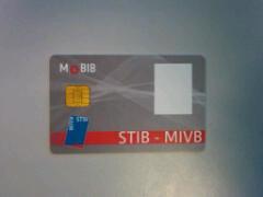 Mobib card