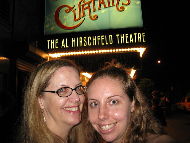 Seeing David Hyde Pierce in Curtains with my mom