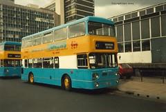 WDA 908T in Sheffield (onthebeast) Tags: city travel west bus buses station andrews sheffield centre service leyland fleetline midlands wmt