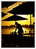Uns.. (Jessica Aquino) Tags: brazil praia beach pôrdosol job homem trabalho guarapari