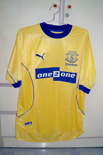 Everton 2001-2002 Away S/S