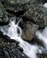 Waterfall (Vitaly_S) Tags: 4x5 45 lf finland water stones водопад финляндия бф landscape color waterfall nature flow longexposure