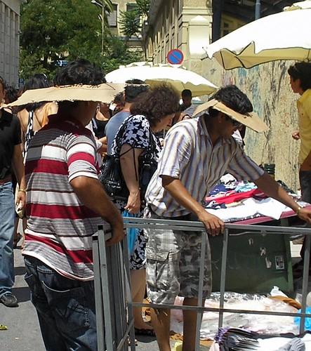 Mercado en el Pireo Atenas
