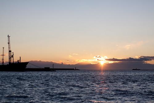 Dawn in Ortona