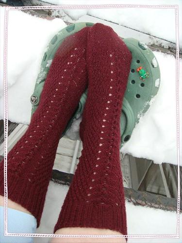 socks snow 036