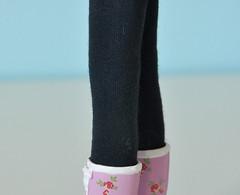 Blythe dark blue tights