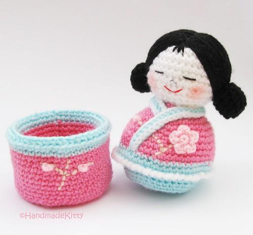 Flickriver Photoset Japanese Kokeshi Girls Jewelry Box Amigurumi