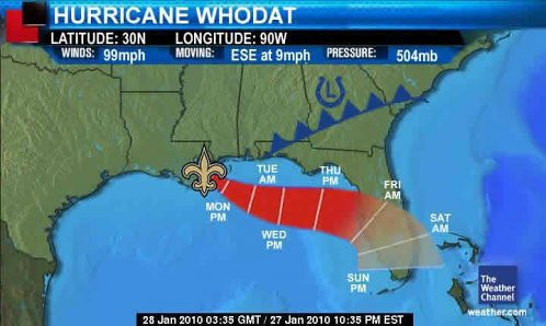 Hurricane Whodat by Editor B.