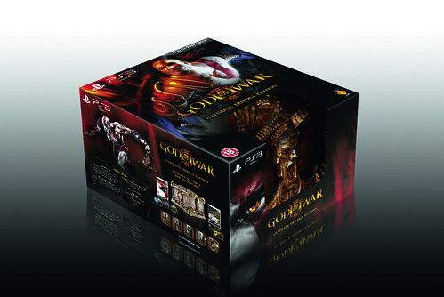 God of War III Ultimate Trilogy Box