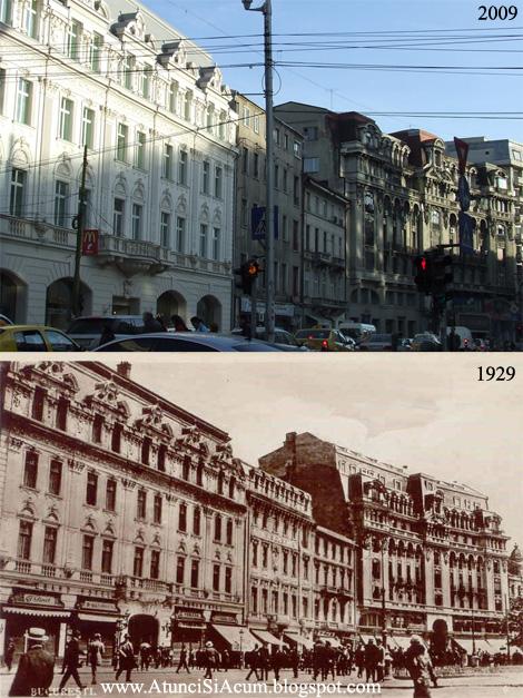 Piata Teatrului - Bucuresti - 1929 - 2009
