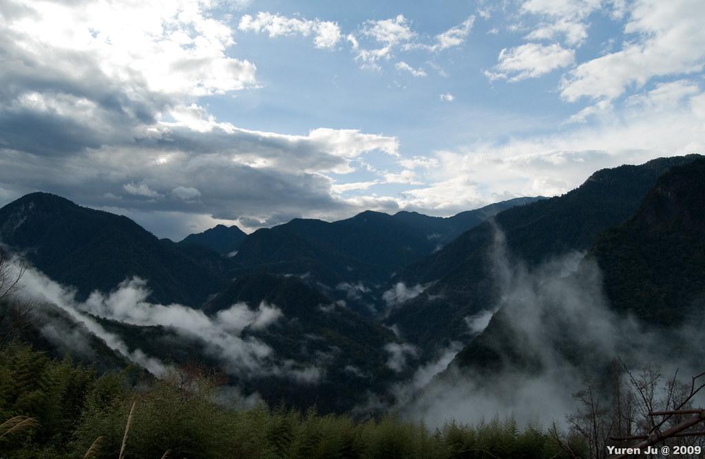 雲霧飄渺的司馬庫斯