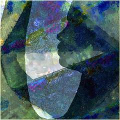 Blue vision (Tedje51) Tags: sculpture photoshop digitalart reality legacy hypothetical crea theart sharingart awardtree miasbest miasexcellence daarklands flickrvault trolledproud