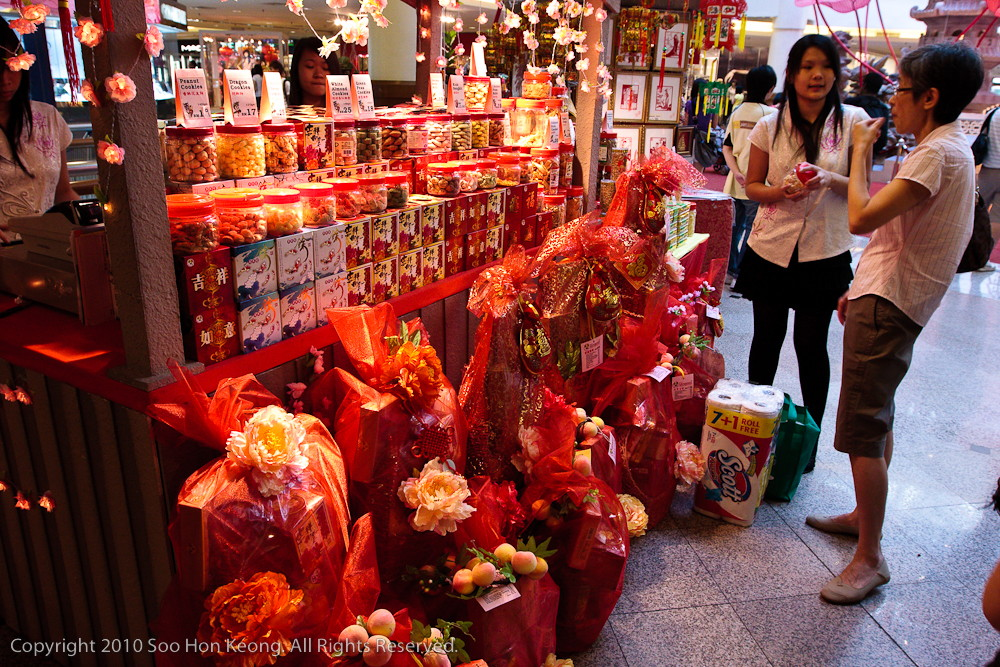 Chinese New Year Shopping @ Mid Valley, KL, Malaysia