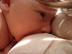 Love, Light, and Milk (valerina15) Tags: light boy sleeping portrait woman baby love sunshine self mom infant quiet peace joy peaceful calm breastfeeding motherhood nursing womanly motherbeautiful 5daysoldnursing