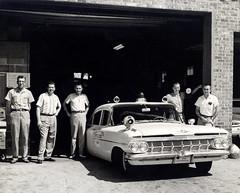 1959 Chev Leawood Kansas Police Car (KurtClark) Tags: 1959 1961 541 biscayne chev chevrolet chevy growler kansas ks leawood policecar siren police