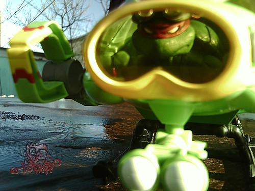 Teenage Mutant Ninja Turtles :: SHELL SUB..; Port Hole i