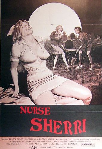"""Nurse Sherri"" (1978) Theatrical Poster"