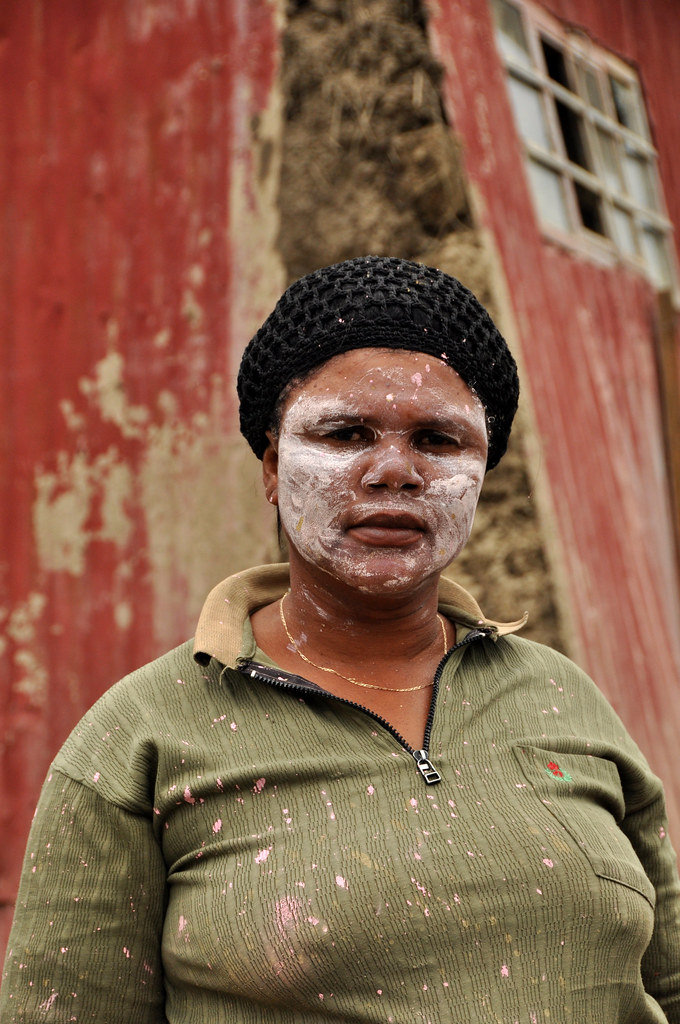 Xhosa Red Face Paint