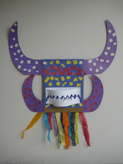 """El Vejigante"" Carnival Mask (Lautramont911) Tags: party music art colors paper children mask dominicanrepublic puertorico caribean vejigante artandcrafts"