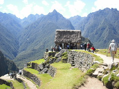 Garita, Machu Picchu, Peru.