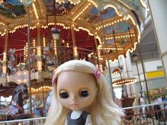 Gretchen in Danbury Fair Mall, CT