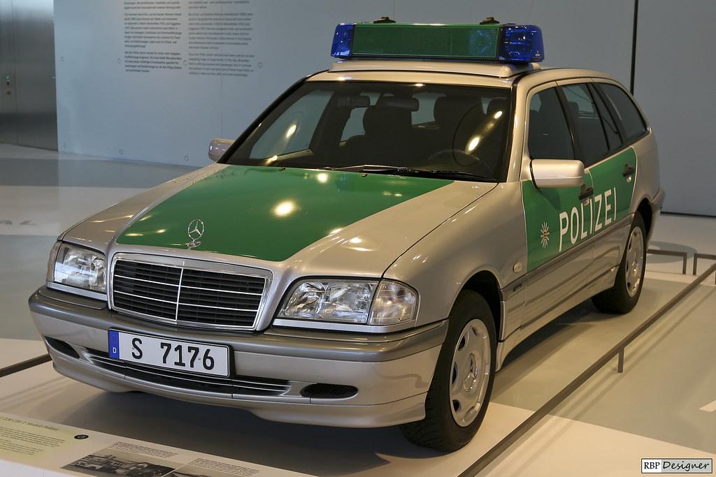 Mercedes-Benz C220 CDI Station Wagon Polizei