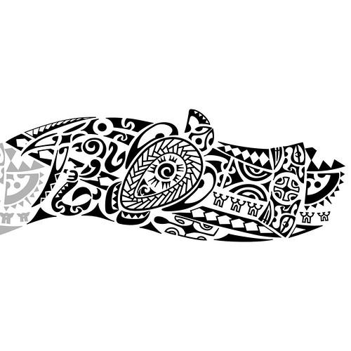 Bracelete Maori kirituhi Tattoo Polinesia tem muito mais