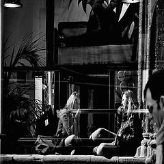 riflessi... (viaggiaresiii) Tags: light portrait bw nikon torre mani bn negozio mano donne sole chiaroscuro riflessi ritratti ritratto luce tenda lampada gambe occhiali pianta pubblicit riflesso mangiare ragazze profilo felce cartellone manichino lampade steso tendina stendersi tagviaggia