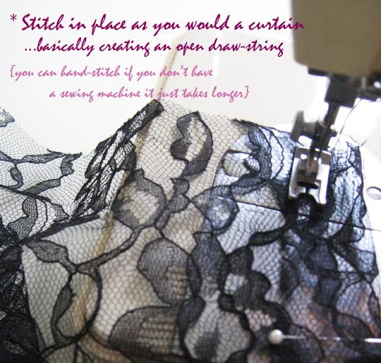 long sheer lace skirt -diy-3