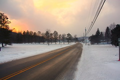 windham road (jamiehladky) Tags: road new york winter sky snow canada ice america cloudy wires poles telegraph windham jamiehladky hladky
